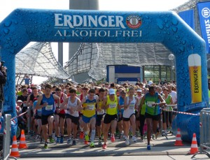 Start Halbmarathon Muenchen 2013