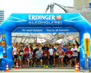 Start Halbmarathon Muenchen 2016